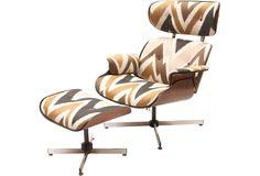 Eames Chair & Ottoman