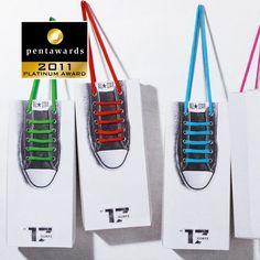 Shoelace Box--PLATINUM PENTAWARD 2011