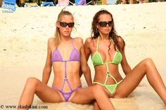 Micro Bikini and extremely see-thru bikinis only at Skin Bikini shop
