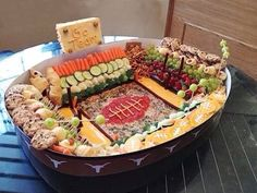 Super Bowl Snack Stadium!