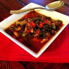 Meatless Monday: The Ultimate Kale & Veggie Soup http://thefitfoodiemama.com/meatless-monday-the-ultimate-kale-veggie-soup/ #MeatlessMonday #Vegan #GlutenFree