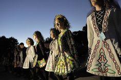 Irish Dancers at Celtic Festival