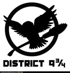 Harry Potter/Hunger Games