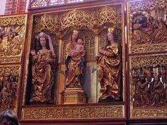 Ołtarz w katedrze w Elblągu
