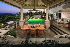 Enjoy luxury right in your backyard (Toll Brothers at Amalfi Hills, CA)
