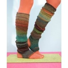 Leg warmers. Would be really cute with boots!