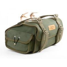 ostrich saddle bag