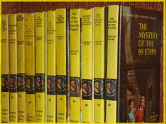 Read these like crazy as a young girl.  I wanted to be Nancy Drew!