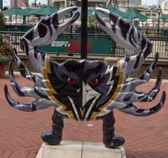 B-town pride...football & crabs that what Maryland does