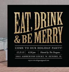 eat drink and be mer