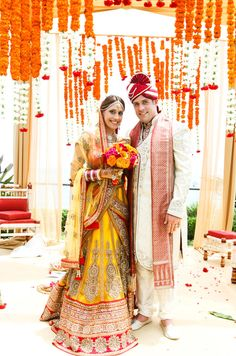 Vibrant Indian Wedding by Donna Newman Photography