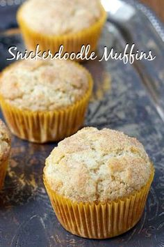 Snickerdoodle Muffins