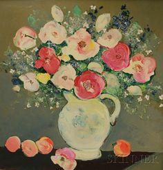 floral still life // artist: ira yeager