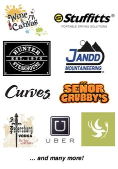 Some of the generous companies at Donation Match who donate to silent auctions. One application to reach multiple donors.