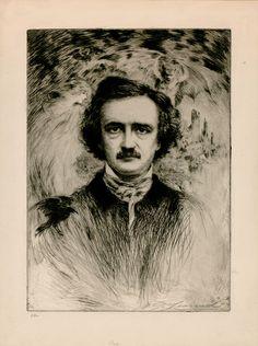 Edgar Allan Poe by Arthur Garfield Learned