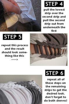 tshirt weaving #TShirt #Refashion #Reconstruct #Revamp #Repurpose #Recycle #Redo #Reuse #Makeover #Upcycle #Recreate #DIY