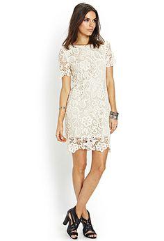 Heirloom Crochet Shift Dress