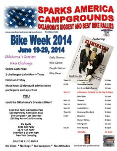 Sparks Oklahoma Bike Week
