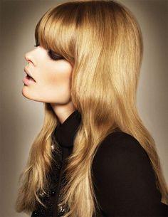 #fashion #60s #hair #makeup #60sfashion #curls #bangs #vintage #retro #models