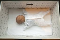 Why Finnish Babies Moslty Sleep In Cardboard Boxes. Beautiful story, US should take note.