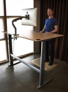 Standing desk motorized