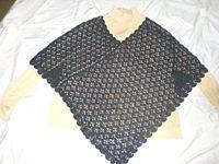 Poncho al crochet