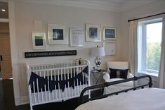 Good Idea for when the nursery has to be in your room.