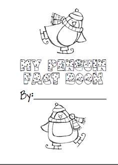 Penguin fact book for nonfiction penguin unit freebie! Follow my blog :)