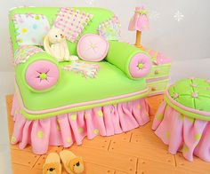 yes, this is a cake! adorable!