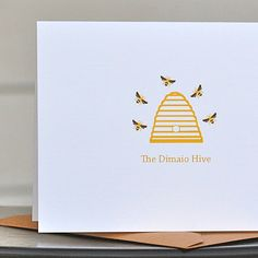 Mother's Day Gift  Bee Stationery   by SweetBellaStationery, $18.00