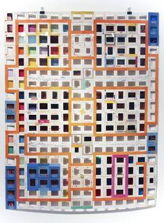 Luiz Zerbini's Slide Frame Collages