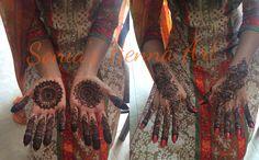 Simple mandala Bridal henna design  By Sonia's Henna Art   Simple bridal henna design  Traditional design of Mehndi Dulhan design  Dulhan Mehndi   Toronto based Artist Henna Artist in Toronto  Www.soniashenna.Com