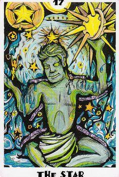 The Dark Carnival Tarot- The Star