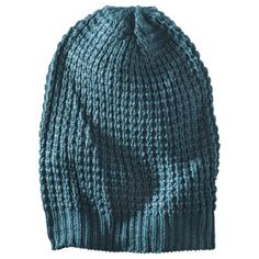 Mossimo Teal/Aqua Waffle Slouchy Hat from Target $10.49
