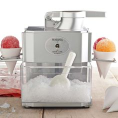 I want this!!! NEW Waring Snow Cone Maker  $69.95