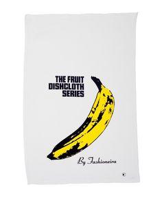 Pano de prato - Modelo Banana