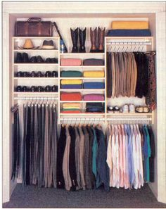 "I need this organization I'd be happy if I could walk more than 2 ft into my closet. So much I can't reach due to ""floor storage"""