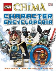 J 791.43 LEG. Details the characters and weapons from each tribe of the Legends of Chima, and includes a buildable minifigure.