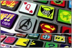 Superhero Keyboard