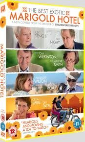 """""""The Exotic Marigold Hotel""""--How Did I Miss This Great Film?  A Cast Chock Full Of British Stars (Thrown In Maggie Smith  Judi Dench...Plus Many More!!) With The Young Stars of """"Slumdog Millionaire"""" and A Magical Film Ensues!!  Retired Brits of All Professions Head To A Temporary Home In India and Find Their Trip To Be the Journey That Makes A New Life!!  A Great Film With Lots  Lots Of Heart...And Brilliant Acting!!  Rent It Now...5 Big Stars!!"""