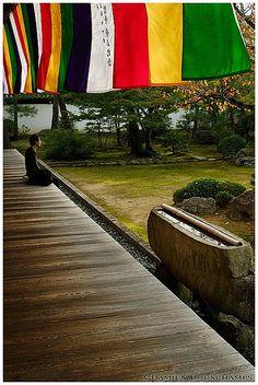 Chishaku-in temple, Kyoto, Japan