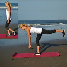 Tone Up for your Two Piece with @noratobin #fitfluential