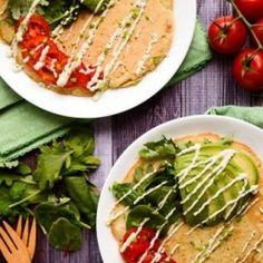 Lentil   Quinoa Protein Pancakes HealthyAperture.com