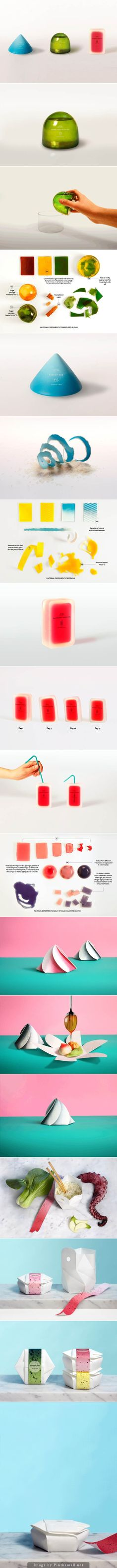 Clever collection of packaging ideas for the future (some animated) so click on the link curated by Packaging Diva PD created via http://www.ideafixa.com/embalagens-do-futuro/