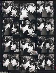 Contact Sheet, Paul McCartney by David Bailey.