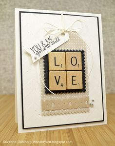 Suzanne Dahlberg featuring Wplus9's Chevron Impression Plate, Quite Like You stamp set and the XOXO Border die.