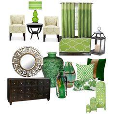 green home decor on pinterest