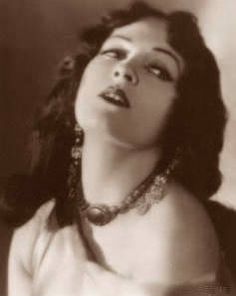 Due to her notoriety in a 1915 play entitled War Brides, Alla Nazimova made her silent film debut in 1916 in the filmed version of the play.  In 1918, Nazimova began producing and writing films in which she also starred. In her film adaptations of works by such notable writers as Oscar Wilde and Ibsen she developed her own film making techniques which were considered daring at the time. #film