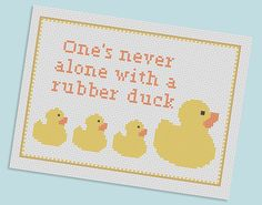 One is never alone with a rubber duck