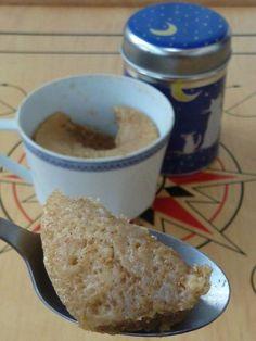 Mug cake cannelle